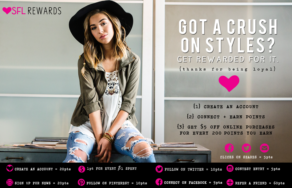 Styles for Less's loyalty landing page