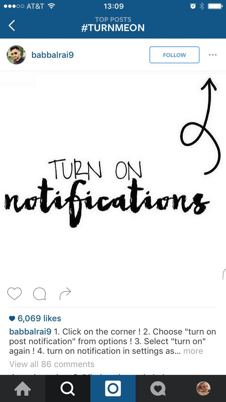 Instagrammers are telling their audience to enable post notifications in anticipation of Instagram's algorithm change.