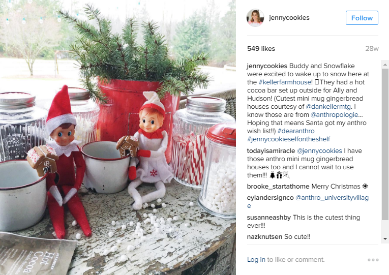 Anthropologie did a wishlist initiative on Instagram last year and randomly awarded participants with prizes. If you do a contest like this through a loyalty program, it'll be easier to track and manage.