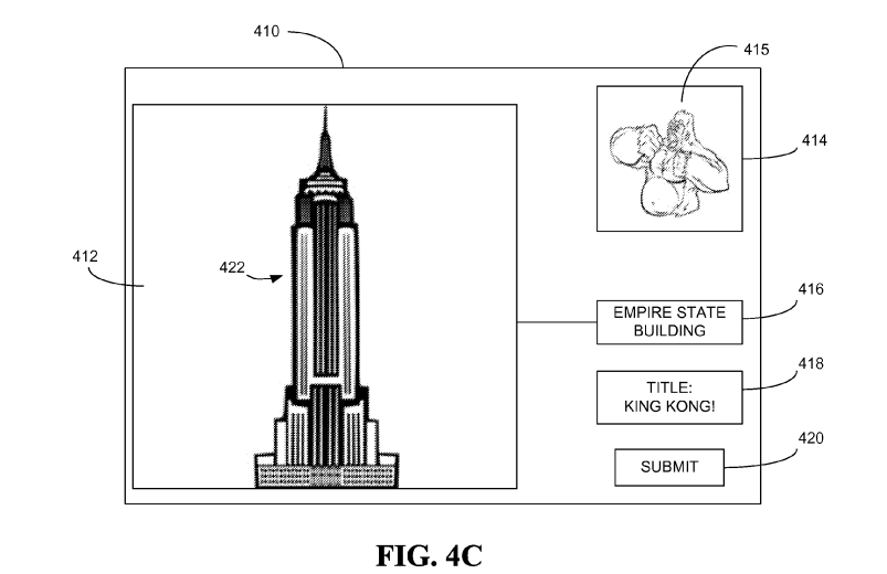 The patent contains illustrations of the proposed technology.