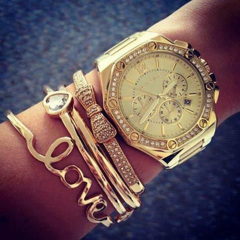 michael kors arm party