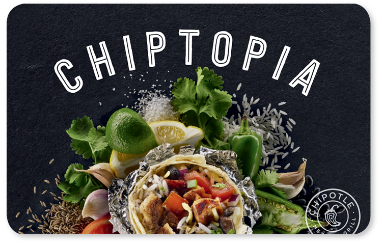 chipotle card
