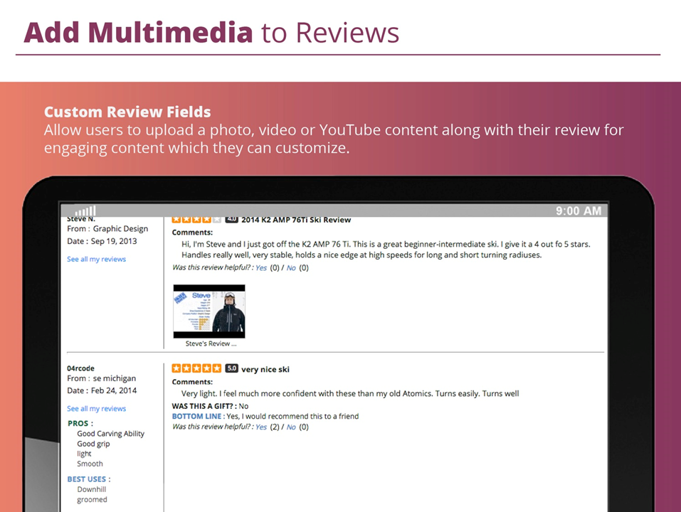 reviews multimedia