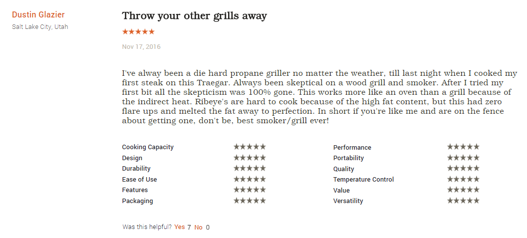 traeger review