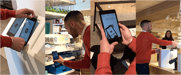 crate and barrel tablets
