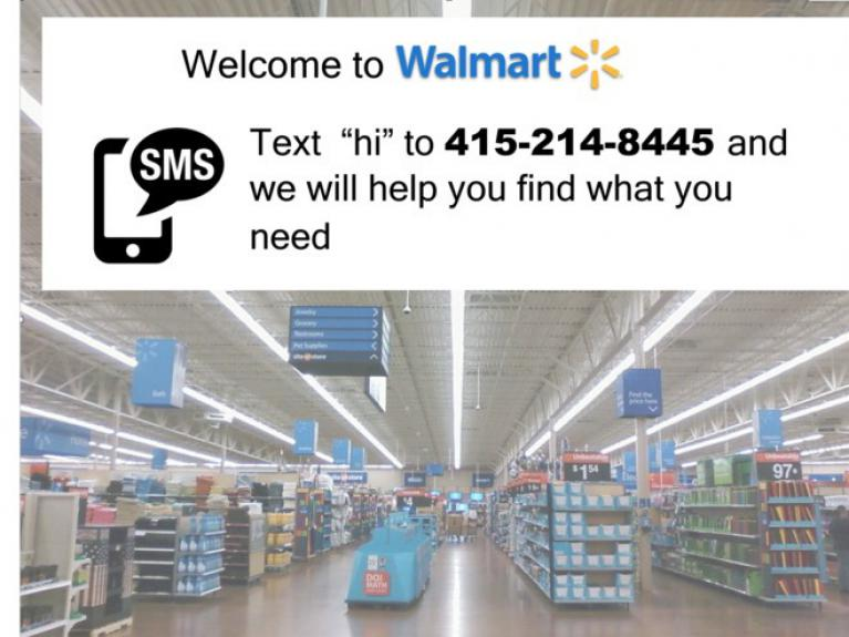 walmart simple text