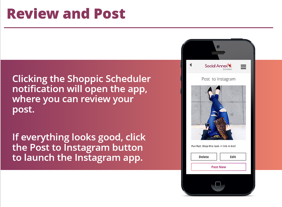 shoppic scheduler review and post