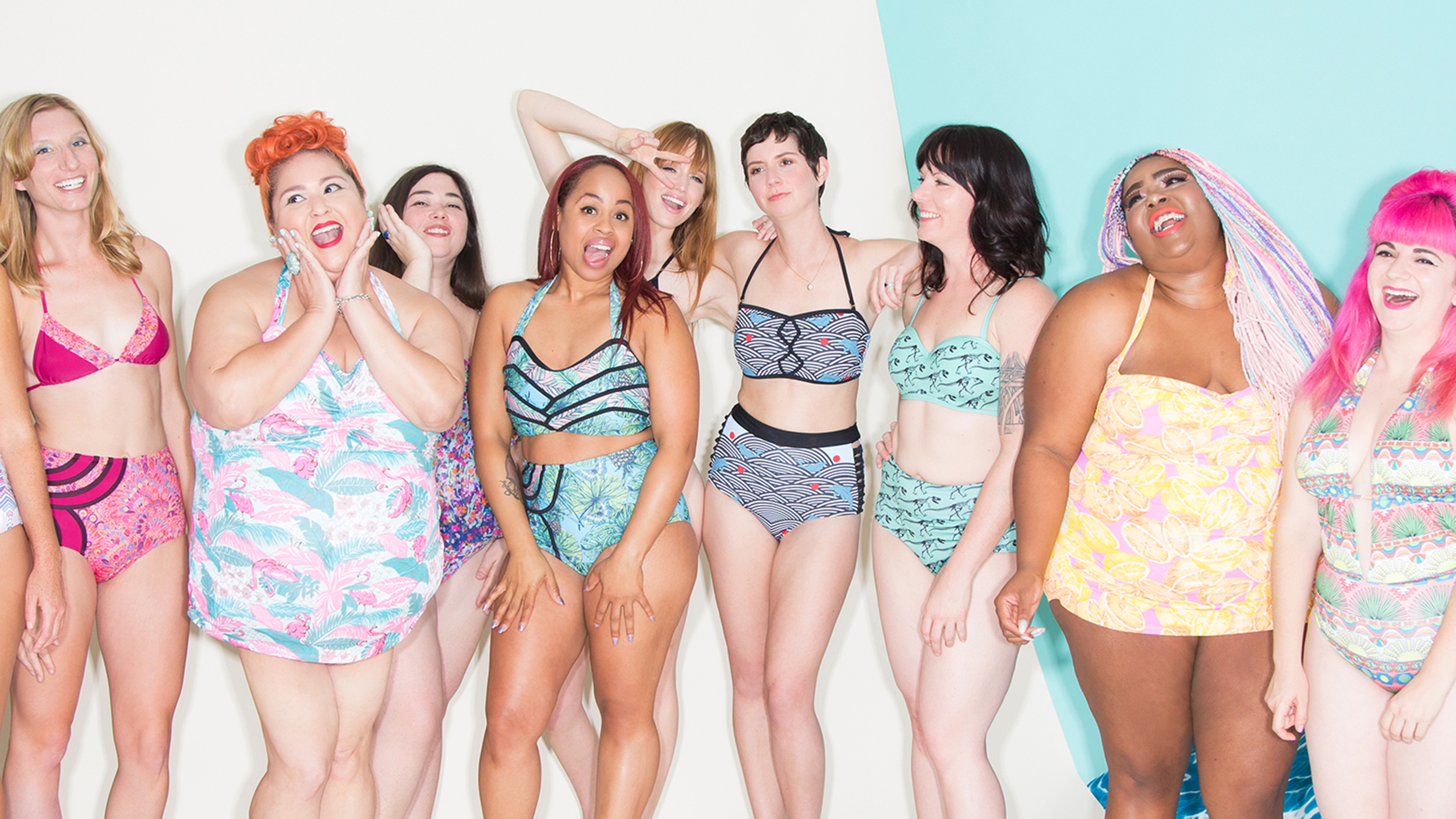 ModCloth is known for its free-spirited vibe and representation of all types of women.