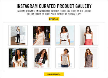 Instagram's Product Gallery