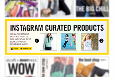 Instagram Curated Galleries & Contests