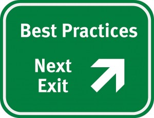 Best Practices Sign