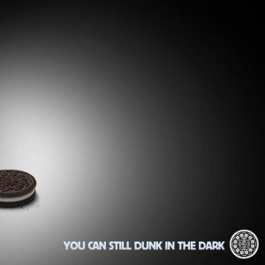 Oreo dunk in the dark advertisement