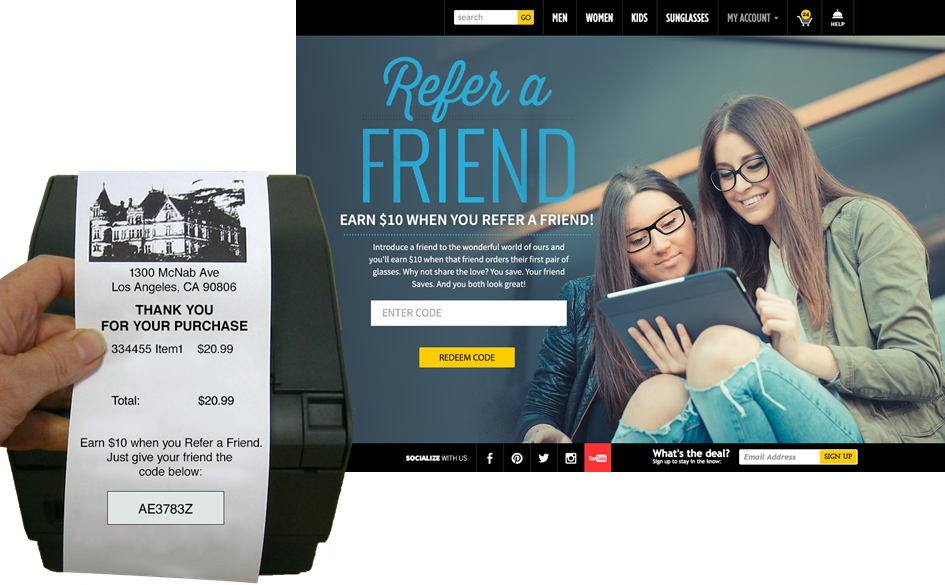 Retail Referral Programs