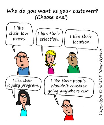 types of loyal customers