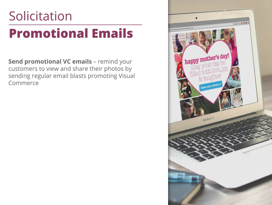 vc promotional emails