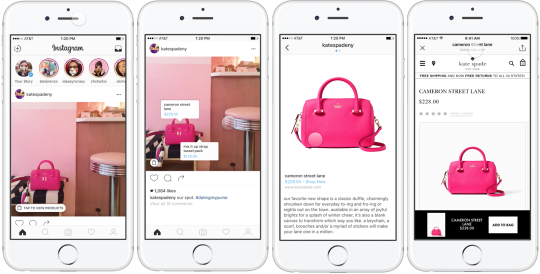 instagram product tags