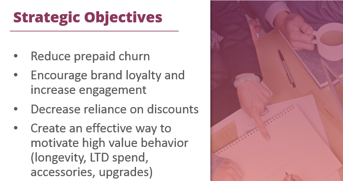 telecom loyalty strategic objectives crop