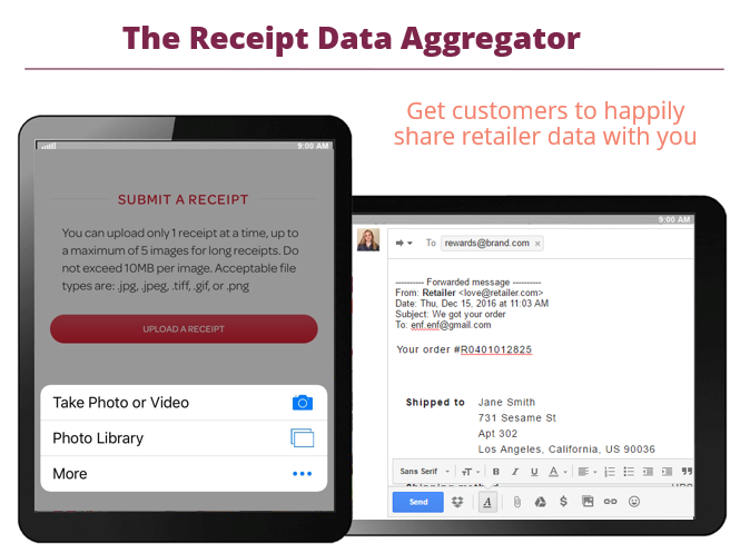 receipt data aggregator slide