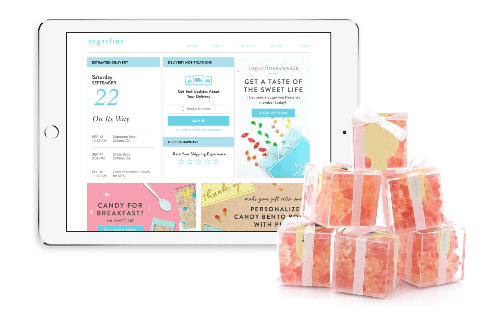 Sugarfina customer loyalty program