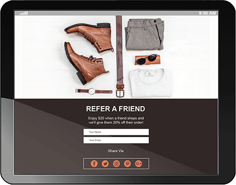 Social Media - Refer a Friend