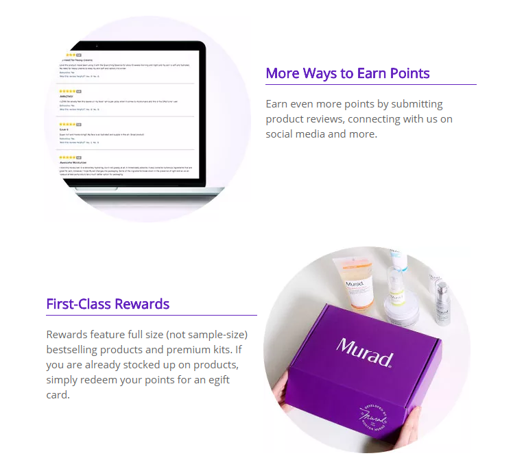 Murad loyalty program