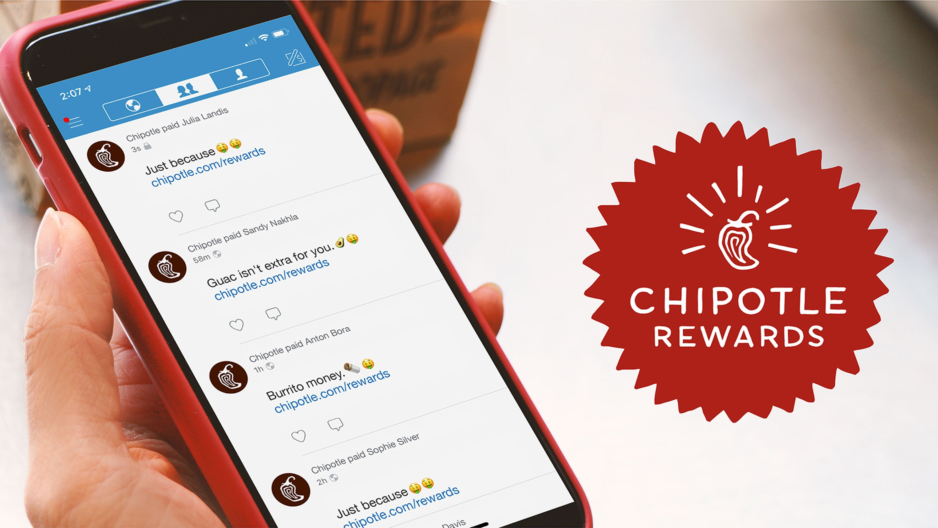 Chipotle's rewards program