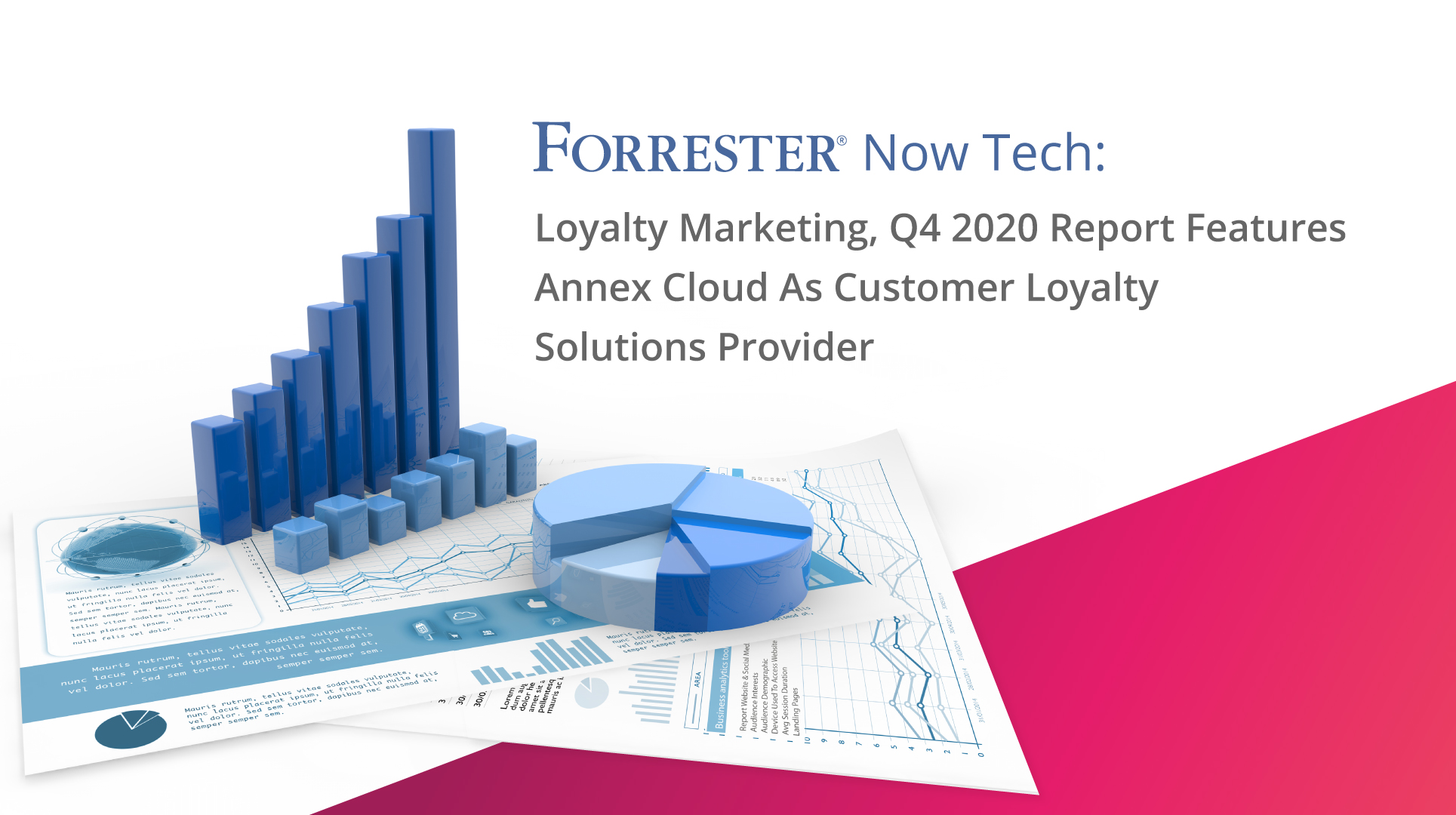 Annex Cloud, a leading customer loyalty solutions provider firm has been included in Forrester Now Tech Loyalty Marketing, Q4 2020 Report